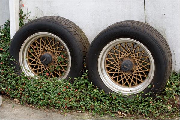 車のタイヤ交換